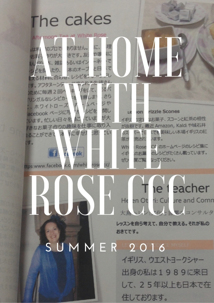 At home with white rose ccc