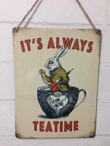 It's always teatime