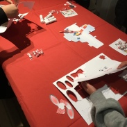 Christmas party craft time