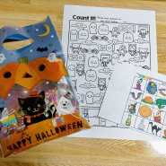 Trick or treat bags ready.